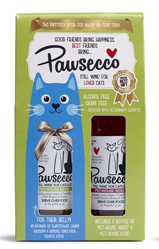 Pawsecco cadeauset kattenwijn