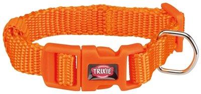 Trixie halsband hond premium papaya oranje