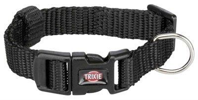 Trixie halsband hond premium zwart