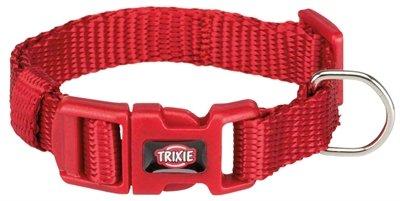 Trixie halsband hond premium rood