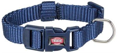 Trixie halsband hond premium indigo blauw
