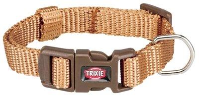 Trixie halsband hond premium karamel