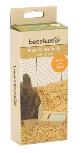 Beeztees intelligentie speelgoed dorix hout mint