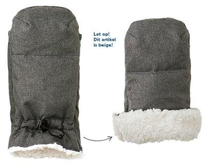 Airbuggy handwarmer earth sand beige