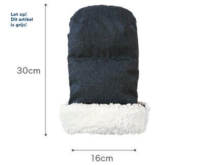 Airbuggy handwarmer earth grijs