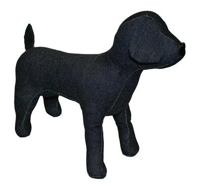 Croci paspop hond zwart