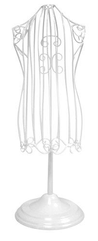 Croci mannequin metaal wit