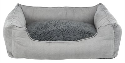Trixie hondenmand warmte reflecterende vulling grijs