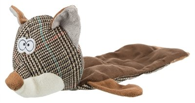 Trixie vos stof zonder vulling grijs / bruin