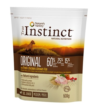 True instinct original medium junior chicken