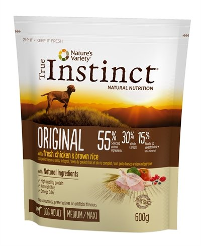 True instinct original medium adult chicken