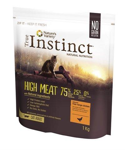 True instinct high meat chicken