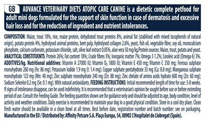 Advance veterinary atopic mini