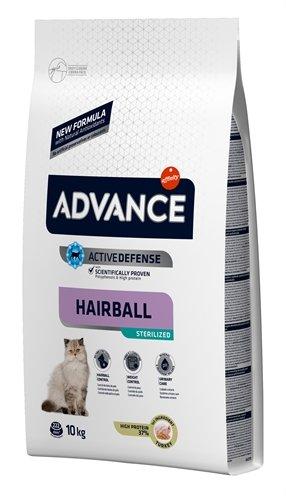 Advance cat sterilized hairball