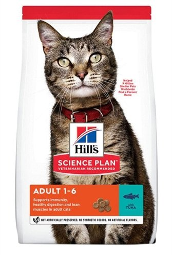 Hill's feline adult optimal care tonijn