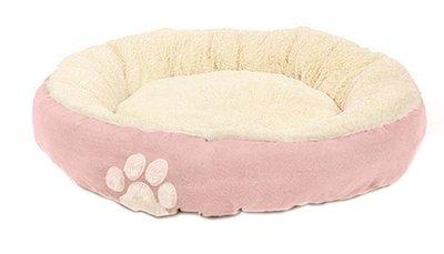 Hugs hondenmand confetti roze