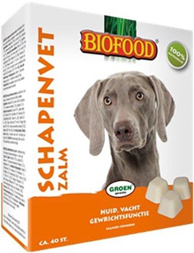 Biofood schapenvet maxi bonbons zalm
