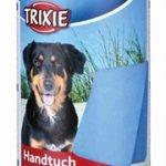 Trixie handdoek blauw