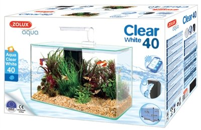 Zolux aquarium clear kit wit