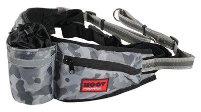 Zolux moov heuptas met jogginglijn camouflage grijs