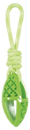 Zolux samba speelgoed tpr aan touw ovaal groen