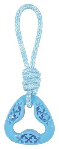 Zolux samba speelgoed tpr aan touw triangel blauw