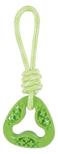 Zolux samba speelgoed tpr aan touw triangel groen