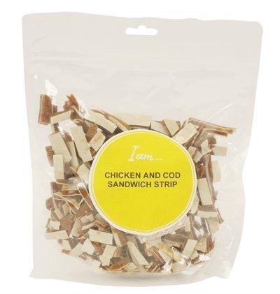 I am chicken and cod sandwich strip