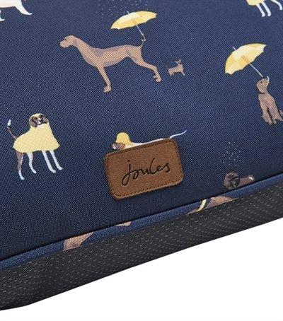 Joules hondenmand matras dog print