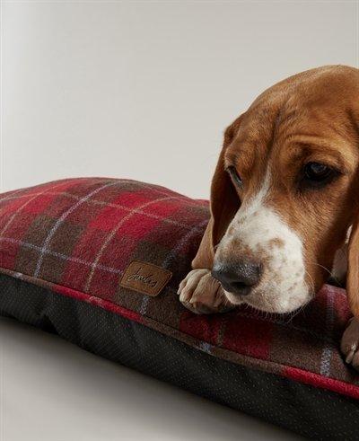 Joules hondenmand matras heritage tweed