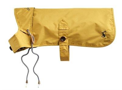 Joules hondenjas regenjas mustard geel