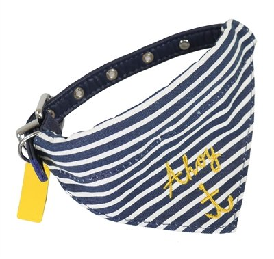 Joules halsband hond coastal nautical met halsdoek
