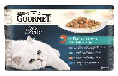 Gourmet perle 4-pack pouch vis delicatesse