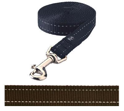 Rogz for dogs snake lijn choco