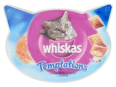 Whiskas snack temptations zalm