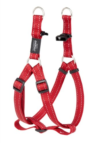 Rogz for dogs fanbelt step-in rood