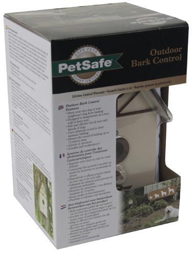 Petsafe outdoor bark control vorm vogelhuis