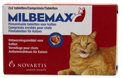 Milbemax tablet ontworming  kat