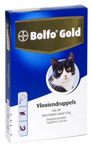 Bolfo gold kat vlooiendruppels