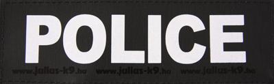 Julius k9 labels voor power-harnas/tuig police