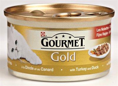 Gourmet gold fijne hapjes kalkoen / eend