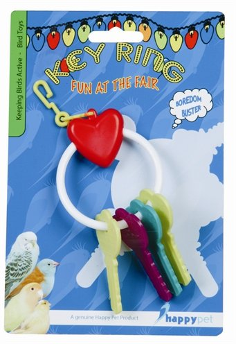 Happy pet fun at the fair key ring