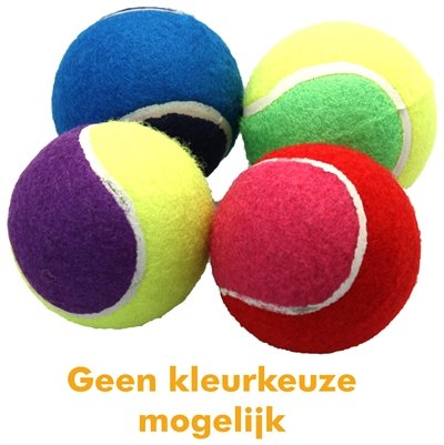 Happy pet tennisbal assorti 4 stuks
