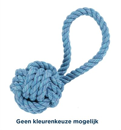 Happy pet nuts for knots bal tugger