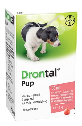 Bayer drontal ontworming pup