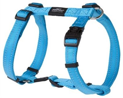Rogz for dogs fanbelt tuig turquoise