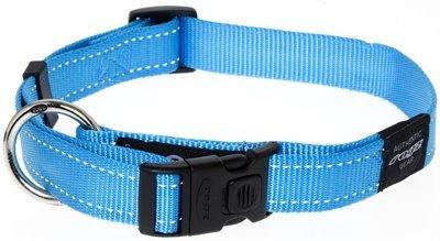 Rogz for dogs lumberjack halsband turquoise