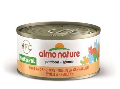 Almo nature cat tonijn/garnalen