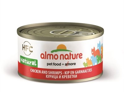 Almo nature cat kip/garnaal