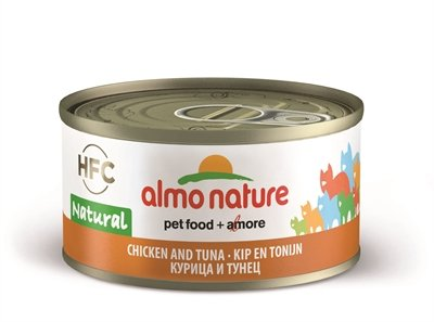 Almo nature cat tonijn/kip